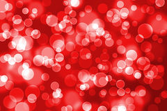 Färgrik festlig julbakgrund med bokeh Arkivbilder
