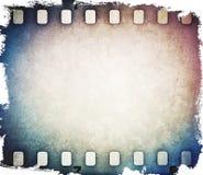 Färgrik filmremsabakgrund royaltyfri fotografi