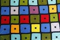 Färgrik filt Royaltyfri Fotografi