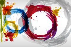 Färgrik fläckbakgrund Fotografering för Bildbyråer
