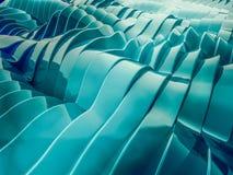 Färgrik formbakgrund för abstrakt begrepp swirly 3d royaltyfri illustrationer