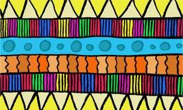 Färgrik formvektorbakgrund Royaltyfri Illustrationer