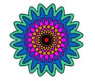 färgrik fractal Arkivbilder