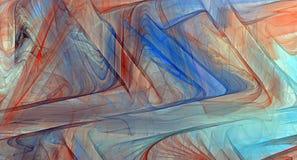 färgrik fractal för abstrakt bakgrund Arkivfoton