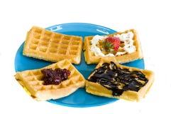 färgrik frukost Royaltyfri Fotografi
