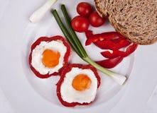 färgrik frukost Fotografering för Bildbyråer