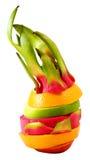 Färgrik frukt för idérik anseendeblandning Fotografering för Bildbyråer