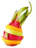Färgrik frukt för idérik anseendeblandning Royaltyfria Foton