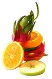 Färgrik frukt för idérik anseendeblandning Royaltyfri Bild