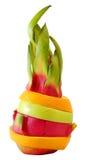 Färgrik frukt för idérik anseendeblandning Arkivbild