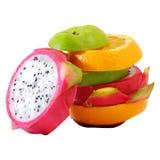 Färgrik frukt för idérik anseendeblandning Royaltyfri Foto