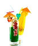 färgrik fruktsaftrad Fotografering för Bildbyråer