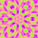 färgrik fyrkantig tegelplatta Royaltyfri Foto