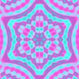 färgrik fyrkantig tegelplatta Arkivfoto