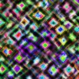 färgrik fyrkantig tegelplatta Royaltyfria Bilder