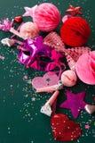 Färgrik garnering för karneval royaltyfria foton