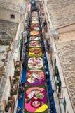 färgrik gata Royaltyfri Bild