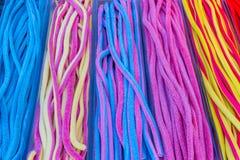 färgrik gelé för godisar royaltyfri fotografi