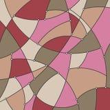 Färgrik geometrisk bakgrund av kurvorna Royaltyfri Fotografi