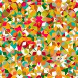 färgrik geometrisk modell Royaltyfri Foto