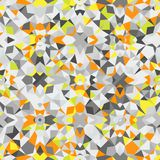 färgrik geometrisk modell Arkivfoto