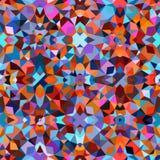 färgrik geometrisk modell Royaltyfri Fotografi