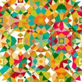 färgrik geometrisk modell Arkivfoton