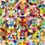 färgrik geometrisk modell Arkivbilder
