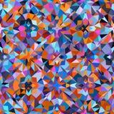 färgrik geometrisk modell Royaltyfria Bilder