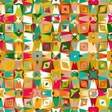 färgrik geometrisk modell Royaltyfria Foton