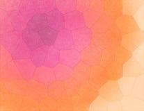 Färgrik geometrisk mosaik - abstrakt bakgrund Royaltyfri Fotografi