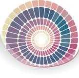 färgrik geometrisk mosaik för abstrakt bakgrund Royaltyfri Bild