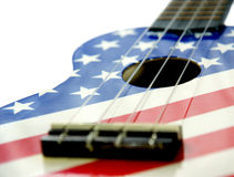 Färgrik gitarr Royaltyfri Fotografi
