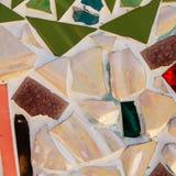 Färgrik glasad tegelplatta Royaltyfria Foton