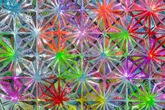 Färgrik glass texturbakgrund Royaltyfri Bild