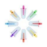 Färgrik glasspinne Royaltyfri Bild