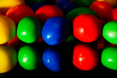 färgrik godis Arkivbild