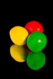 färgrik godis arkivfoton