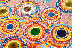 färgrik golvmodell Fotografering för Bildbyråer