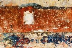 färgrik grafittivägg Arkivbild