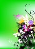 färgrik grunge för bakgrund Arkivfoto