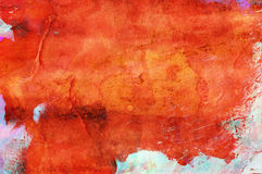 färgrik grungemålarfärg för abstrakt backgrnd Royaltyfri Foto