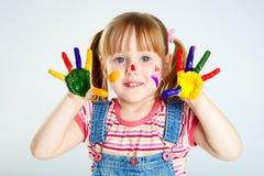 Färgrik gyckel fotografering för bildbyråer