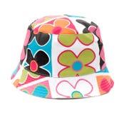färgrik hatt Arkivfoton