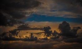 Färgrik himmel Royaltyfria Bilder