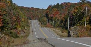 Färgrik huvudväg Royaltyfria Foton