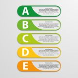 Färgrik infographic design på den gråa bakgrunden Arkivfoton
