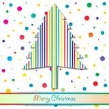 Färgrik jul Arkivbilder