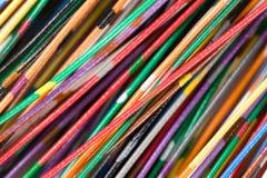 färgrik kabel royaltyfria foton