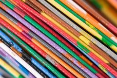 färgrik kabel arkivbild